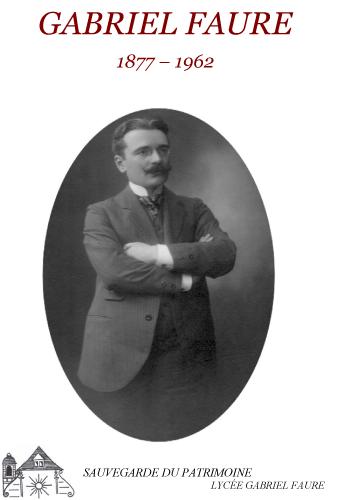 Gabriel Faure, un illustre tournonais