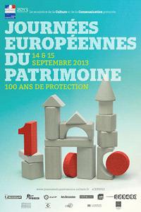 Affiche des Journées européennes du patrimoine 2013