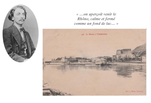 Exposition Mallarmé et Tournon 1863-2013 - Carte postale