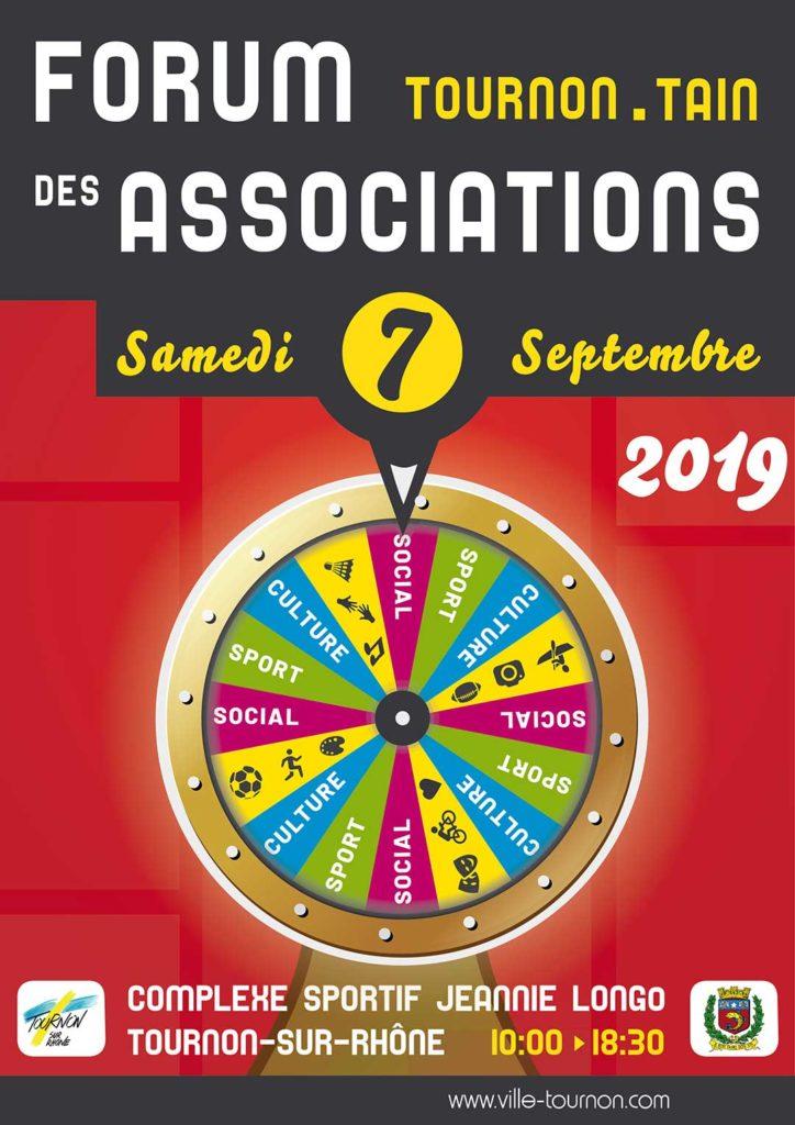 Forum des Associations - Samedi 7 septembre 2019